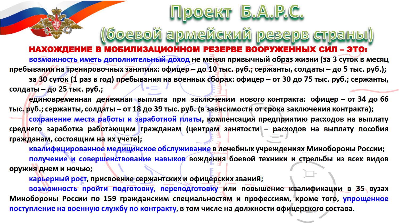 Резервисты плакат БАРС_1